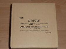 Genuine Original NEC GT50LP Lamp 01160024 for GT1150 GT2150 Projector