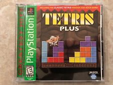 Tetris Plus ( Sony Playstation 1),PS1, Complete w/Case & Manual