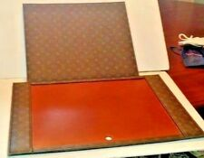 LOUIS VUITTON  Executive Desk Blotter and cover pad Vintage EXTREMELY RARE