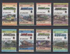 St. Vincent  Satz 1 Train / Eisenbahn / Loco 100 Leaders of the World **