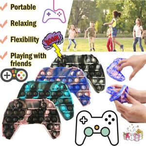 NEW Popit Fidget Figet Toys Push Bubble Sensory Stress Relief Hand Game Gamepad