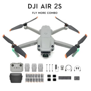 DJI Air 2S Fly More Combo Drone Quadcopter Foldable 5.4K GPS With Warranty