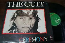 """THE CULT - Ceremony, LP 12"""" SPAIN 1991"""