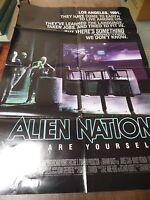 "Alien Nation 1988 James Caan 27x41"" Original Movie Poster 020916ame"