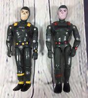 "2 Lanard Corps (1986) Action Figures - 3.75"" / Vintage Toy"