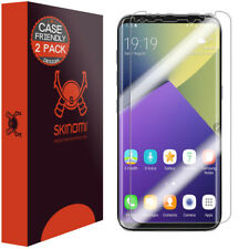2 Pack Skinomi TechSkin Clear Film Screen Protector for Galaxy S8 Case Friendly