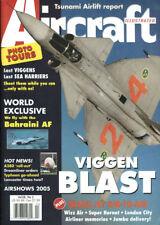 AIRCRAFT ILLUSTRATED V38 N2 CHINA LAKE F/A-18_SAAB VIGGEN_SAFIR_BAHRAIN F-16_KLM