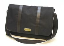 ARAMIS PARFUMS MENS CLASSIC DARK BROWN MESSENGER / LAPTOP / SHOULDER  BAG * NEW