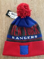 791d6fe323c New York Rangers adidas Mens 2018 Winter Classic Cuffed Pom Players ...