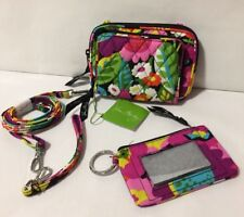 NWT Vera Bradley VA VA BLOOM Multi Color Wallet Square Wristlet Crossbody LOT