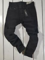 New Diesel Men's Jeans Tepphar 0674N Slim Carrot Stretch Black RRP $171