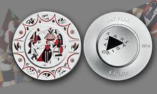 EUR 5 - LATVIA 2016 - BALTARS CHINA CRAFTWORK - SILVER COIN - BU - S