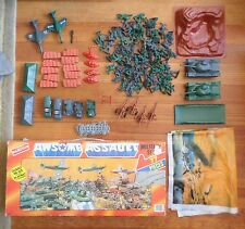 Vintage Randtoy Awesome Awsome Assault Wwii Ww2 Set Action Figures