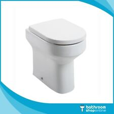 Modern Ceramic Comfort Height Toilet Pan Back to Wall BTW Toilet Soft Close Seat