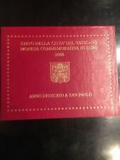 Coffret BU 2 EURO Commémorative VATICAN 2008 SAINT PAUL - 85 000 EX