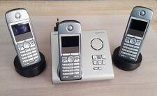 Siemens Gigaset S445 Analog Telefon mit Anrufbeantworter TRIO