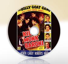 Kid Monk Baroni (Young Paul Baroni) (1952) DVD Drama Movie / Film Leonard Nimoy