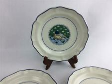 Mikasa French Countryside Calico Circle 5 Salad Dessert Plates Duck F9014