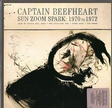 CAPTAIN BEEFHEART SUN ZOOM SPARK:1970 TO 1972 BOX DELUXE 4 VINYLS LP 180