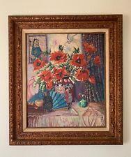 Shutong Li Signed (1880 –1942 ) Oil Painting
