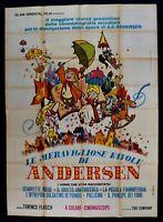 Poster Die Wunderbaren Märchen Von Andersen Toei Monogatari Kimio Yabuki M313