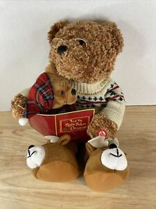 Avon 'Twas The Night Before Christmas Animated Talking Story Bear 2006- Works