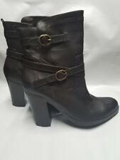 Style & Co. Womens AMELIYA Round Toe Ankle Fashion Boots, Brown , Size 9.5 NEW