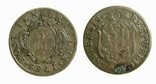 s283_8)  Swiss Cantons GENEVA 6 Sols   1765