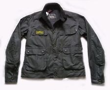 "NEW SUPERB BARBOUR "" OSCAR "" WAX JACKET - XXL - BIKER - MOTORCYCLE - BNWT £229"