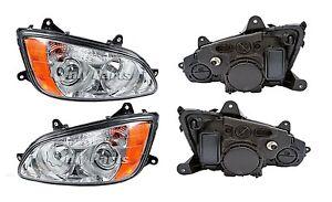 New Headlight PAIR 2010 2011 2012 2013 2014 Kenworth T700