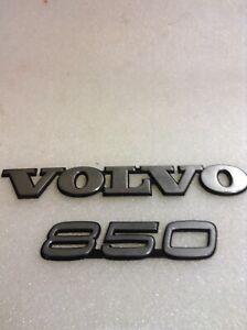 1993 1994 1995 1996 1997 Factory Genuine Volvo 850 trunk emblem
