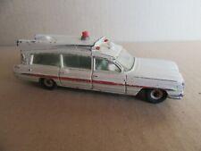 512I 1962'S Dinky 263 England Pontiac Superior Criterion Ambulance 1:43