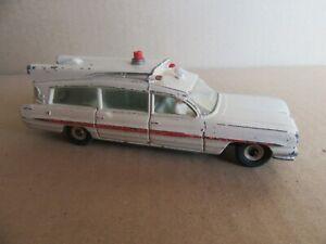 512I 1962'S Dinky No 263 England Pontiac Superior Criterion Ambulance 1:43