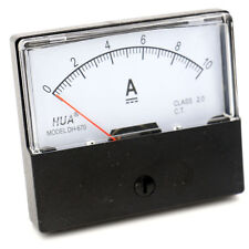 Amperemeter DH-670 DC 0-10A Class 2.5 Accuracy Ampere Needle Panel Meter Gauge