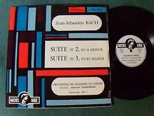 JS BACH suite 2 & suite 3 / Vienne LINDENBERG LP French label MICHEL ANGE MIC 4