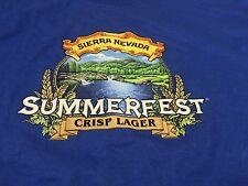 Sierra Nevada Brewing Summerfest Crisp Lager Large T Shirt Beer