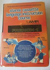 NEW: Advance Memory Research Cassette Language Instruction Course: French 1