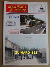 Chemins de fer régionaux et urbains n°280 juillet 2000 Le train de Guines
