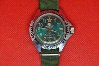 Vintage soviet VOSTOK Zakaz MO USSR Komandirskie VDV airborne troops watch 2414a