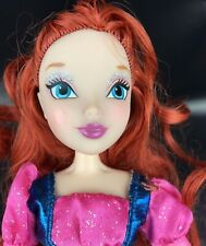 Winx Club Bloom Believix Fashion Doll Red Hair Skirt Top Nickelodeon