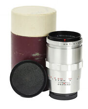 Boxed Carl Zeiss Jena Sonnar 4/135mm f/4.0 135mm 4.0 mount Exa Exakta No.6348454