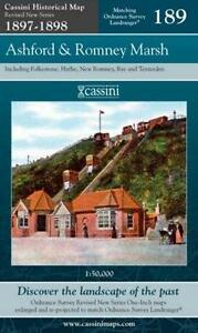 Ashford & Romney Marsh.Cassini Publishing Ltd(Sht map,foldd,2007)NW.End of Stock