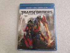 Transformers 3 Dark of the Moon Blu-Ray + DVD + Digital - Retail Factory Sealed