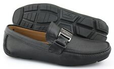 Men's SALVATORE FERRAGAMO 'Sardegna' Black Leather Loafers Size US 7.5 - 2E