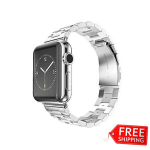 HOCO Stainless Steel Apple Watch Band (3 Pointers) - Silver 38mm