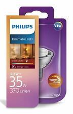 Genuine Philips LED GU5.3 Dimmable 6.5w = 35w Warm Glow 370 Lumen - NEW & SEALED