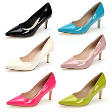 Patent Leather Party Pumps, Classics Medium (B, M) Heels for Women