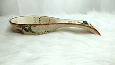 Classic Olive Spoon Rest Beige with Olives Branch Design