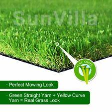 SunVilla 6'X12' / 4'x13' / 13'x25'Realistic Indoor/Outdoor Artificial Grass/Turf
