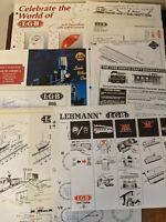 Lot 11 - LGB / ARISTO-CRAFT Train Instruction Manual Flyer plus others